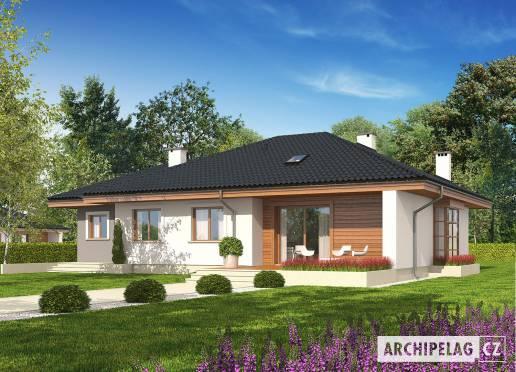 Projekt rodinného domu - Franczi II G1