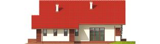 Projekt domu Ruri G1 - elewacja prawa