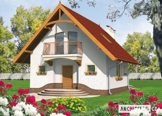 Projekt rodinného domu - Zina (e. I)