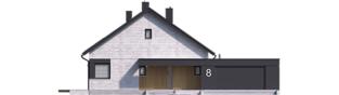 Projekt domu Daniel VII G2 - elewacja frontowa