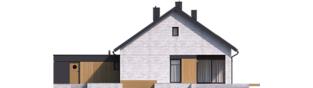 Projekt domu Daniel VII G2 - elewacja tylna