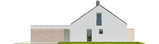 Projekt domu Magnus G2 ENERGO PLUS - elewacja prawa