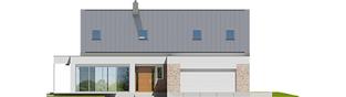 Projekt domu Magnus G2 ENERGO PLUS - elewacja frontowa