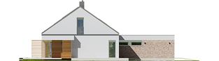 Projekt domu Magnus G2 ENERGO PLUS - elewacja lewa