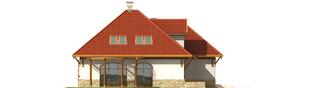 Projekt domu Letycja G2 - elewacja lewa