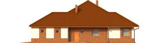 Projekt domu Mariusz G2 - elewacja prawa