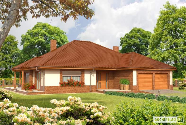 Projekt domu Mariusz G2 - Projekty domów ARCHIPELAG - Mariusz G2 - wizualizacja frontowa