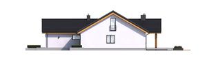 Projekt domu Simon G2 - elewacja prawa