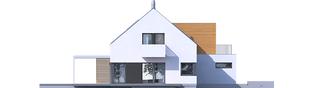 Projekt domu Nils II G2 ENERGO PLUS - elewacja lewa