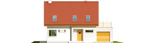 Projekt domu Tim II G1 - elewacja frontowa
