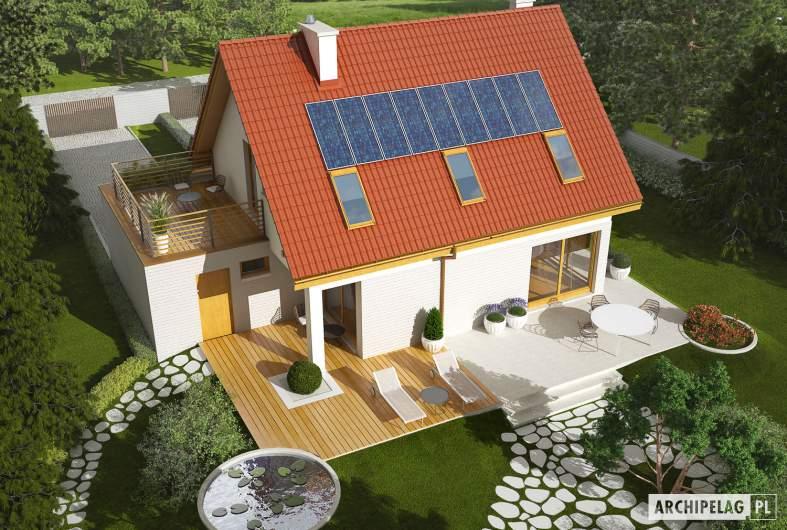 Projekt domu Tim II G1 - Projekty domów ARCHIPELAG - Tim II G1 - widok z góry