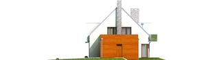 Projekt domu Adrian G1 - elewacja prawa