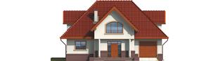 Projekt domu Ofelia G1 - elewacja frontowa