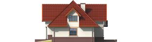 Projekt domu Ofelia G1 - elewacja prawa