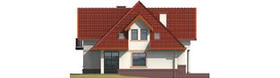 Projekt domu Ofelia G1 - elewacja lewa
