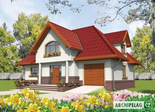 Projekt rodinného domu - Ofélie