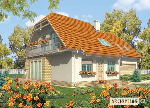Projekt rodinného domu - Sněžka III (G2)