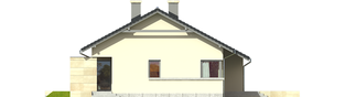 Projekt domu Tori G1 - elewacja prawa