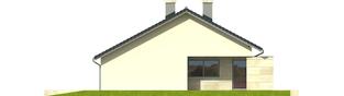 Projekt domu Tori G1 - elewacja lewa