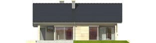 Projekt domu Tori G1 - elewacja tylna