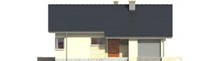 Projekt domu Tori G1 - elewacja frontowa