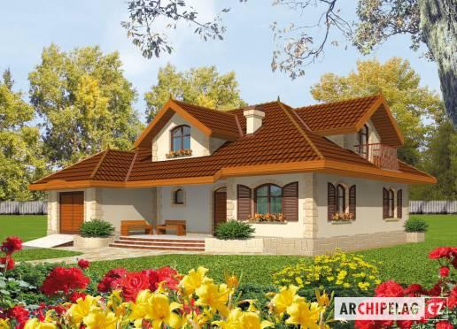Projekt rodinného domu - Maruška
