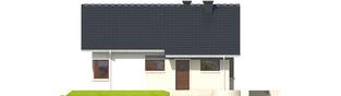 Projekt domu Tori III - elewacja frontowa