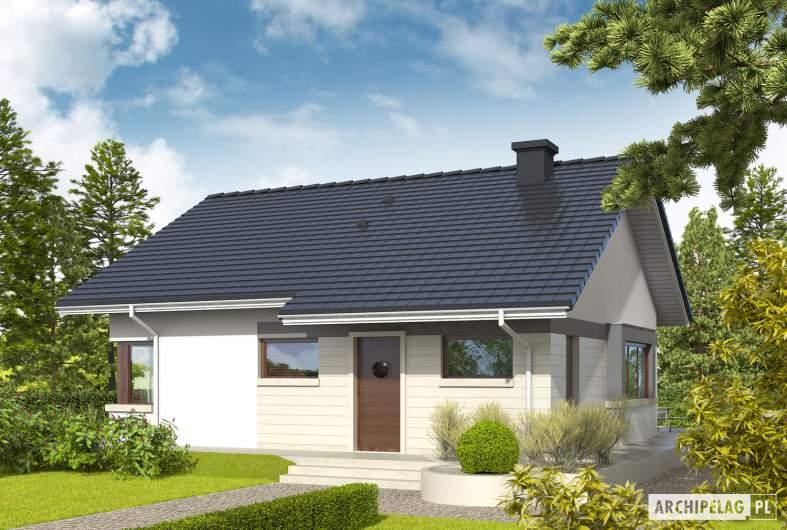 Projekt domu Tori III - wizualizacja frontowa