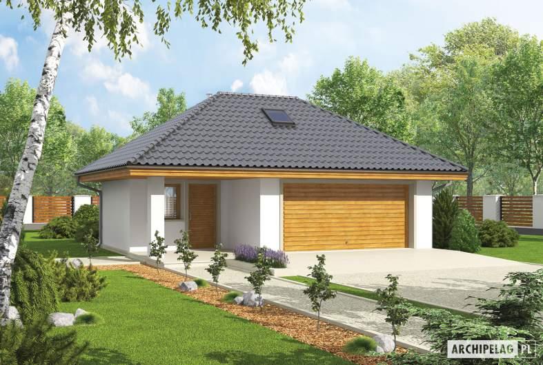 Projekt domu Garaż G20 - Projekt Garażu G20 - wizualizacja frontowa