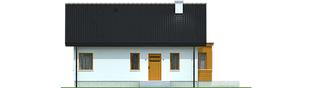 Projekt domu Elmo II ENERGO - elewacja frontowa
