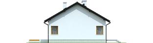 Projekt domu Elmo II ENERGO - elewacja lewa