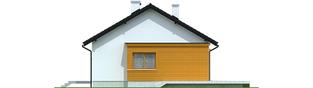 Projekt domu Elmo II ENERGO - elewacja prawa