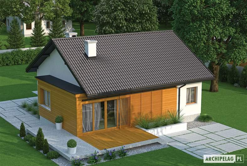 Projekt domu Elmo II ENERGO - widok z góry