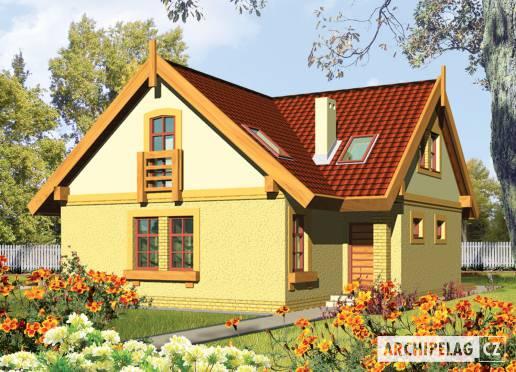 Projekt rodinného domu - Kája (e. I)