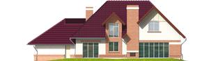 Projekt domu Liliana G2 - elewacja tylna