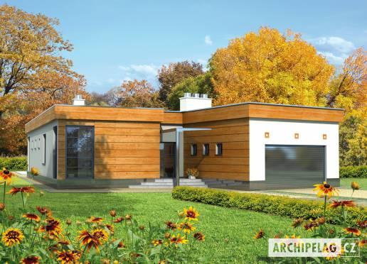 Projekt rodinného domu - Bonifác (v. II)