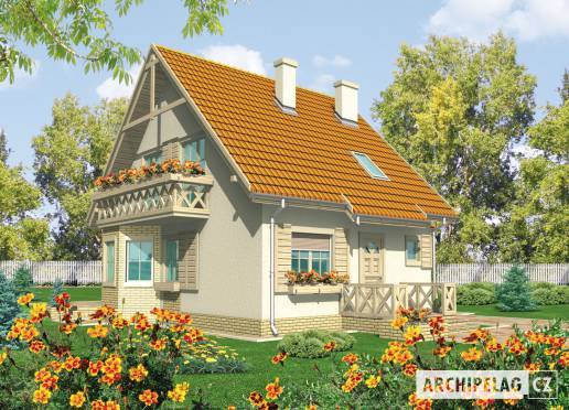 Projekt rodinného domu - Sněžka II (G1)