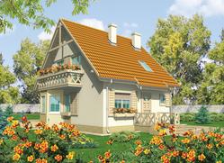 Projekt rodinného domu: Sněžka II (G1)