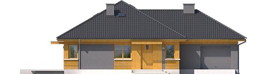 Anabela G1 - Projekty domów ARCHIPELAG - Anabela G1 - elewacja frontowa