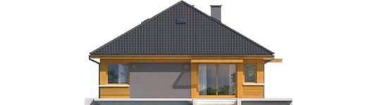 Anabela G1 - Projekty domów ARCHIPELAG - Anabela G1 - elewacja lewa