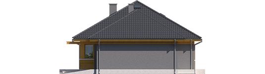 Anabela G1 - Projekty domów ARCHIPELAG - Anabela G1 - elewacja prawa