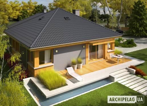 Проект будинку - Анабеля (Г1)