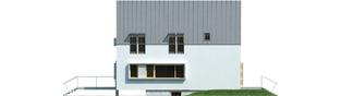 Projekt domu Lumina II G2 - elewacja prawa