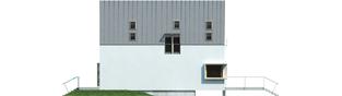 Projekt domu Lumina II G2 - elewacja lewa