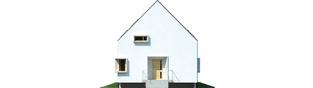 Projekt domu Lumina II G2 - elewacja frontowa