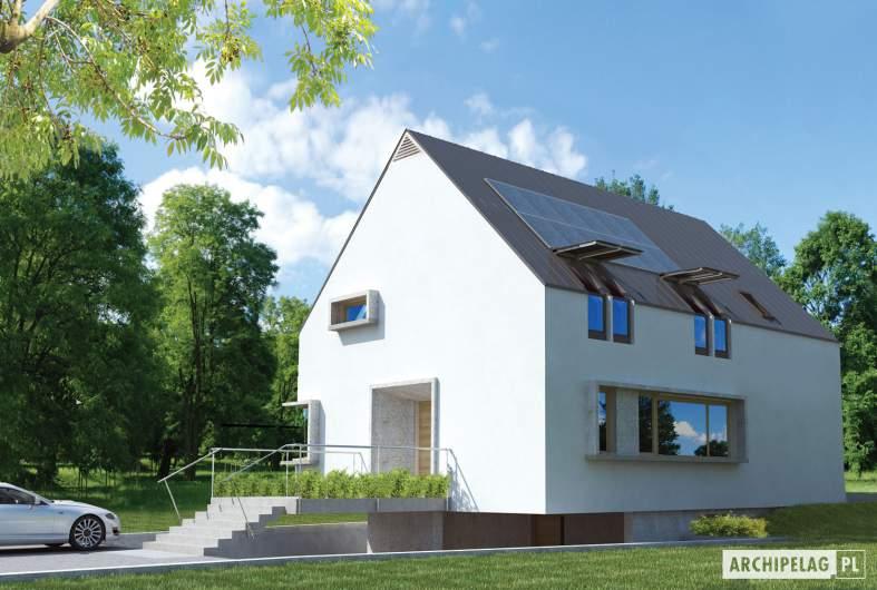 Projekt domu Lumina II G2 - wizualizacja frontowa