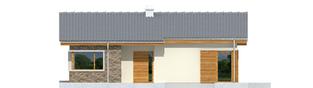 Projekt domu Bob - elewacja frontowa
