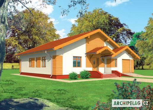 Projekt rodinného domu - Serafína