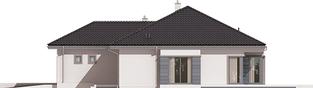 Projekt domu Eris II G2 (wersja C) - elewacja prawa