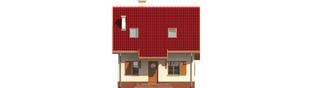 Projekt domu Raissa - elewacja frontowa